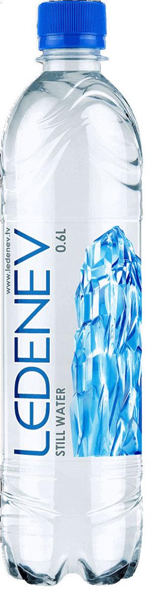 Ledenev Вода питьевая негазированная, 0,6 л вода новотерская питьевая негазированная 5л