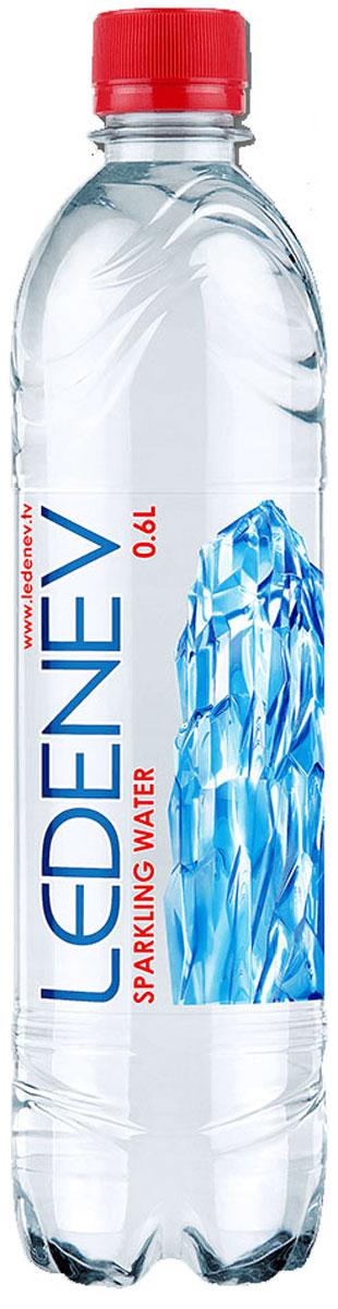 Ledenev Вода питьевая газированная, 0,6 л96003Вода Ledenev: сила инноваций для здоровой жизни. Природная питьевая вода из артезианского источника. Итальянское оборудование для разлива воды. Система фильтрации и очистки отвечает последним стандартам качества.