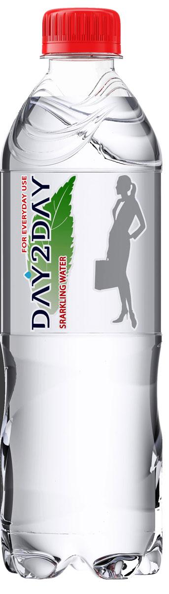Day2Day Вода питьевая газированная, 0,5 л рюкзак с полной запечаткой printio звездные войны кайло рен
