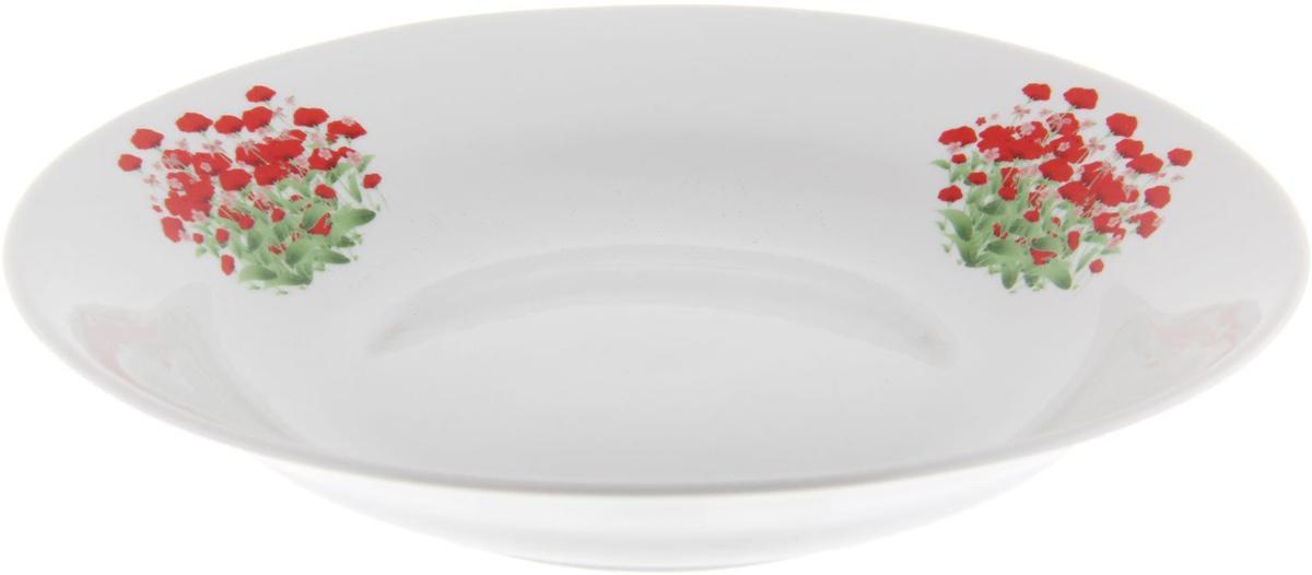 Тарелка глубокая Фарфор Вербилок Альпийский луг, диаметр 23,5 см. 12627871262787От качества посуды зависит не только вкус еды, но и здоровье человека. Тарелка - товар, соответствующий российским стандартам качества. Любой хозяйке будет приятно держать его в руках. С такой посудой и кухонной утварью приготовление еды и сервировка стола превратятся в настоящий праздник.