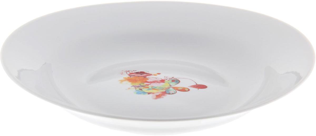 Тарелка глубокая Фарфор Вербилок Капля полдня, диаметр 23,5 см. 12630381263038От качества посуды зависит не только вкус еды, но и здоровье человека. Тарелка - товар, соответствующий российским стандартам качества. Любой хозяйке будет приятно держать его в руках. С такой посудой и кухонной утварью приготовление еды и сервировка стола превратятся в настоящий праздник.