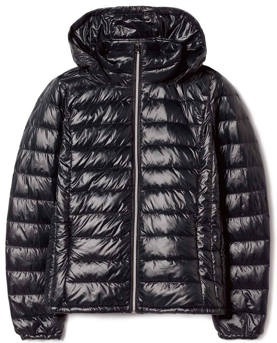 Куртка жен United Colors of Benetton, цвет: черный. 2RQ4532U4_700. Размер 502RQ4532U4_700