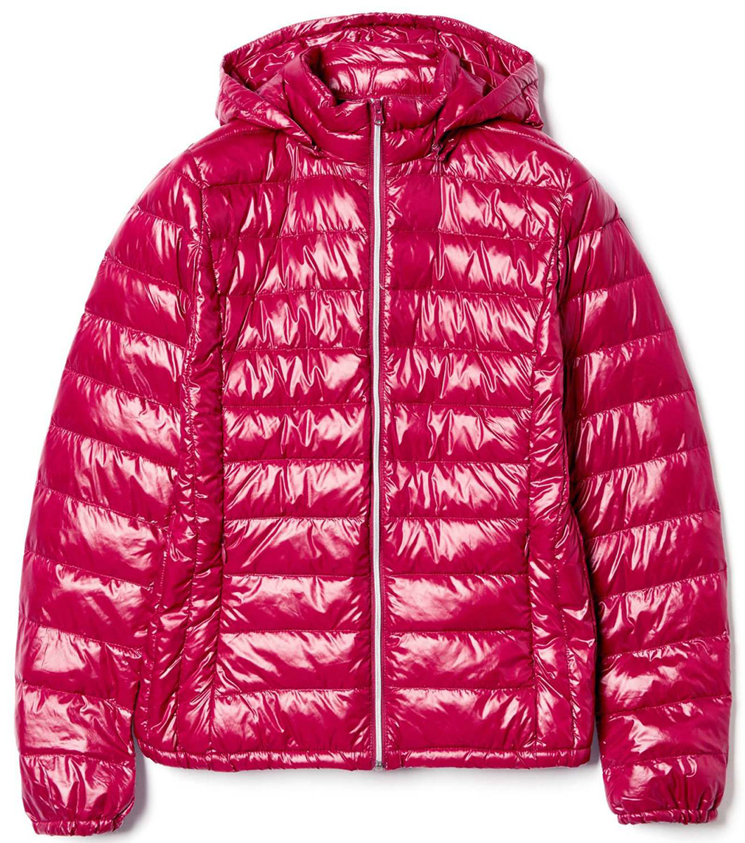 Куртка женская United Colors of Benetton, цвет: красный. 2RQ4532U4_75L. Размер 42 (44)2RQ4532U4_75LКуртка женская United Colors of Benetton выполнена из полиамида. Модель с капюшоном и длинными рукавами застегивается на застежку-молнию.