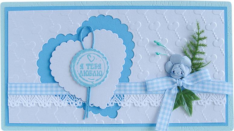 Конверт-открытка Студия Тетя роза Два сердца. ОВЛ-0013ОВЛ-0013