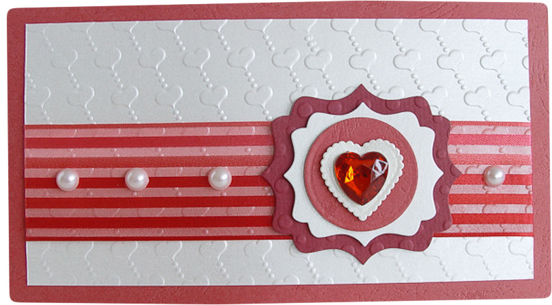 Конверт-открытка Студия Тетя роза Два сердца. ОВЛ-0018ОВЛ-0018