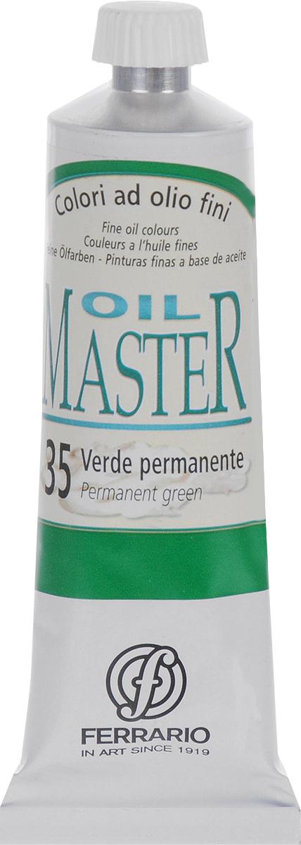 Ferrario Краска масляная Oil Master цвет №35 пермаментный зеленыйAM0030CO035Масло Oil Master итальянской компании Ferrario подходит как начинающим художникам, так и профессионалам. Краска изготавливается из светостойких пигментов мелкого помола. Благодаря тому, что некоторые натуральные пигменты были заменены на аналоги краски серии Oil Master стали более доступны по цене. Светостойкие краски отлично лессируются и хорошо смешиваются между собой. Краску можно разбавлять льняным маслом, терпентином или нефтяными разбавителями. В работе с красками используют кисти из щетины, синтетики и волоса колонка.