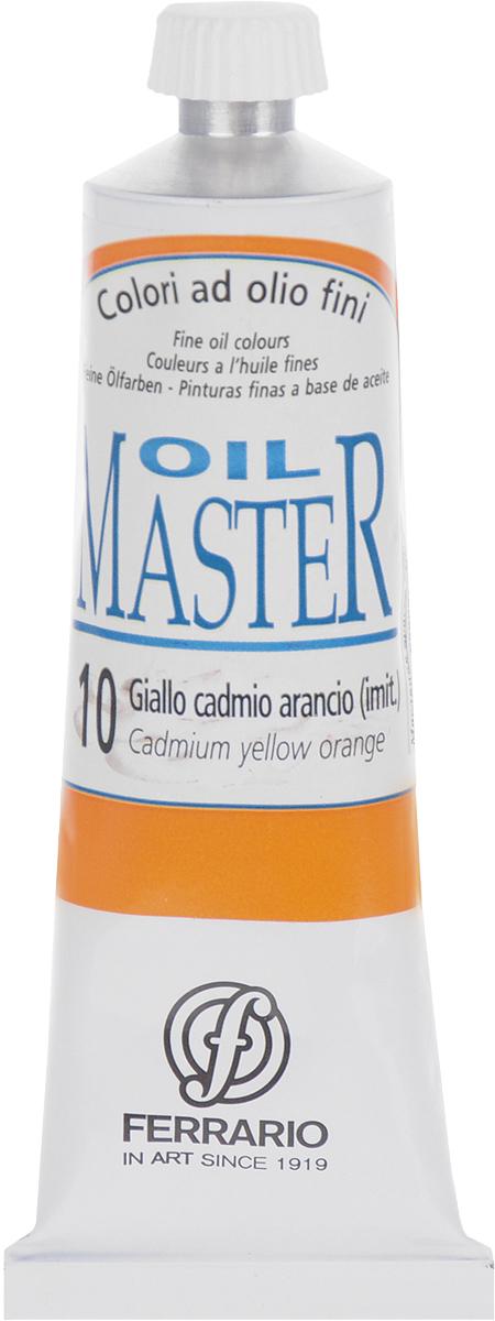Ferrario Краска масляная Oil Master цвет №10 кадмий желтый оранжевыйAM0030CO010Масло Oil Master итальянской компании Ferrario подходит как начинающим художникам, так и профессионалам. Краска изготавливается из светостойких пигментов мелкого помола. Благодаря тому, что некоторые натуральные пигменты были заменены на аналоги краски серии Oil Master стали более доступны по цене. Светостойкие краски отлично лессируются и хорошо смешиваются между собой. Краску можно разбавлять льняным маслом, терпентином или нефтяными разбавителями. В работе с красками используют кисти из щетины, синтетики и волоса колонка.