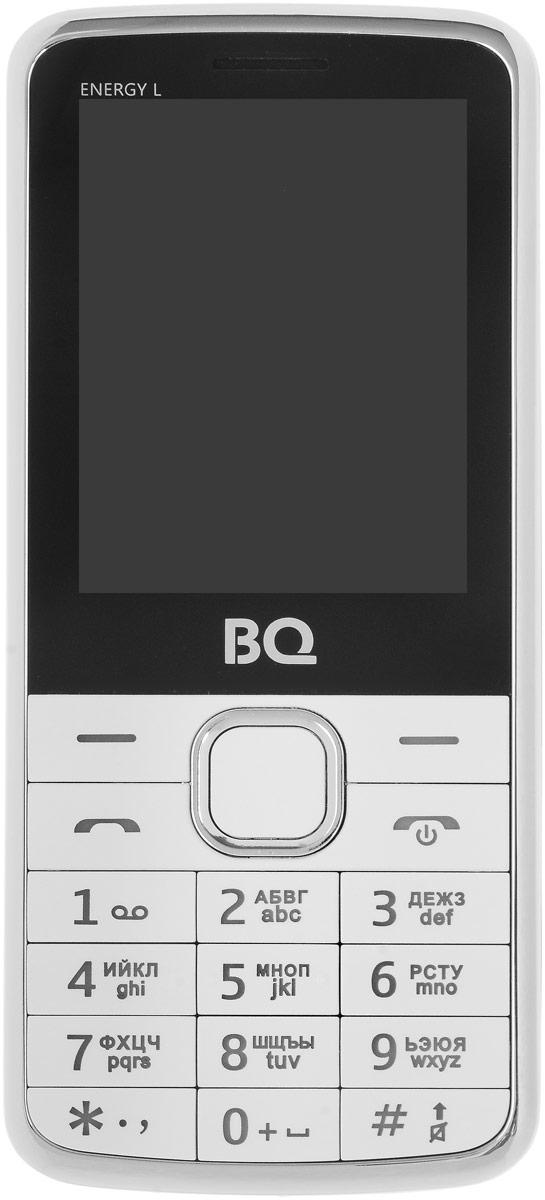 BQ 2426 Energy L, White - Мобильные телефоны