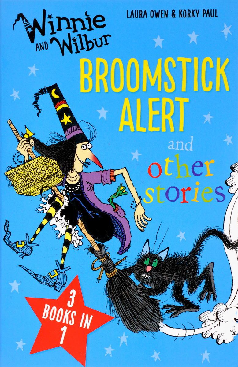 Winnie and Wilbur: Broomstick Alert and Other Stories winnie and wilbur the pirate adventure cd