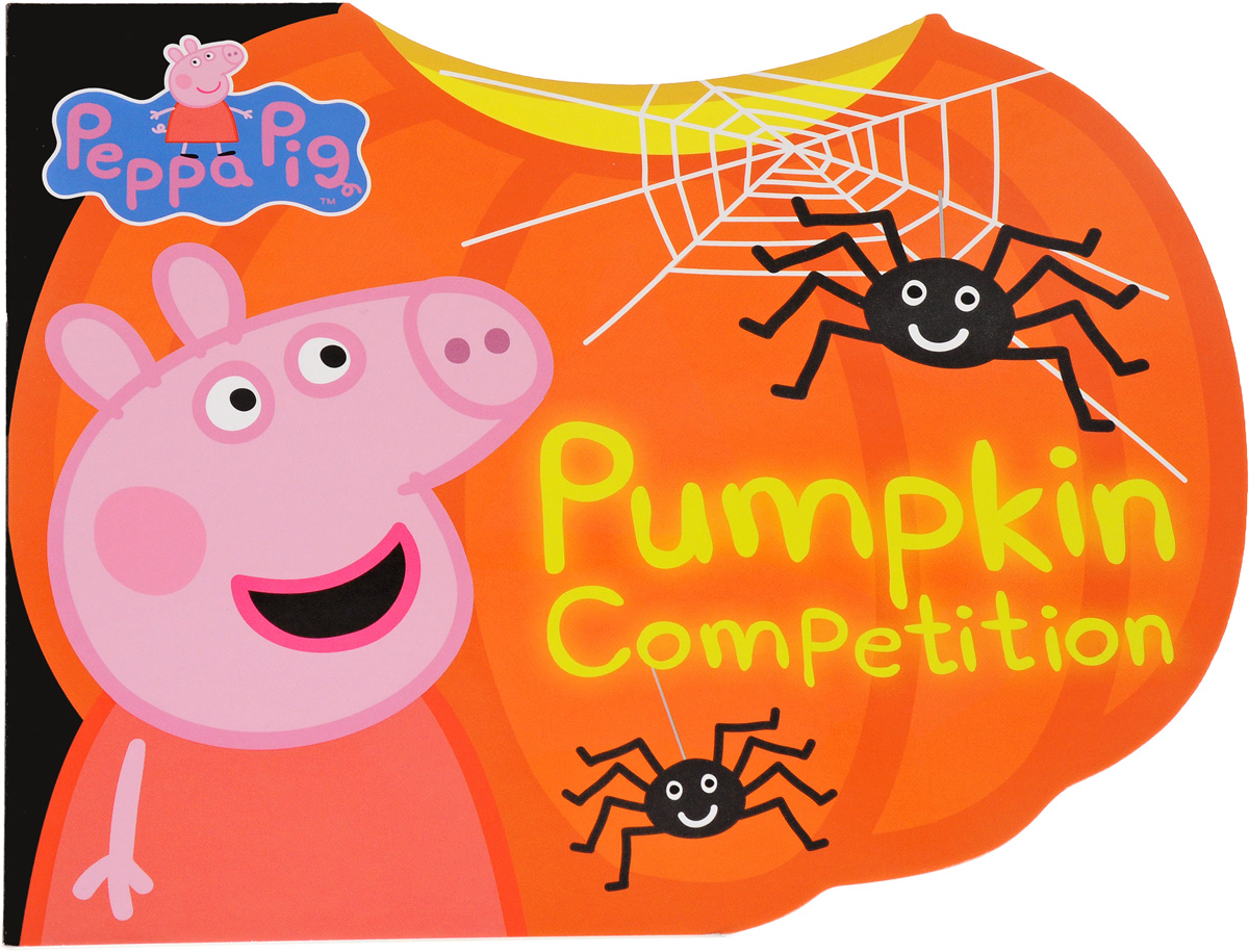 Peppa: Pumpkin Competition halloween pumpkin wizard hat pendant necklace