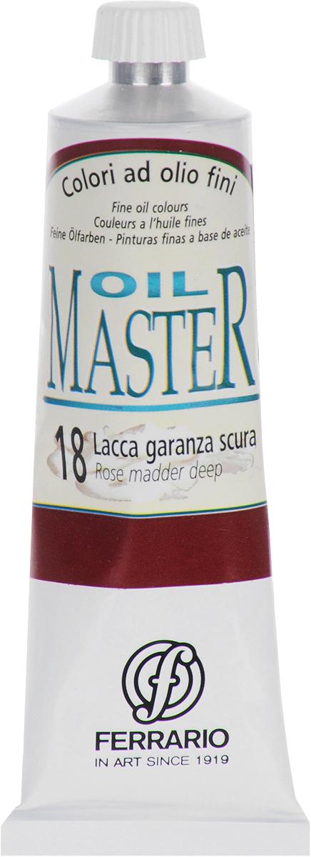 Ferrario Краска масляная Oil Master цвет №18 краплакAM0030CO018Масло Oil Master итальянской компании Ferrario подходит как начинающим художникам, так и профессионалам. Краска изготавливается из светостойких пигментов мелкого помола. Благодаря тому, что некоторые натуральные пигменты были заменены на аналоги краски серии Oil Master стали более доступны по цене. Светостойкие краски отлично лессируются и хорошо смешиваются между собой. Краску можно разбавлять льняным маслом, терпентином или нефтяными разбавителями. В работе с красками используют кисти из щетины, синтетики и волоса колонка.