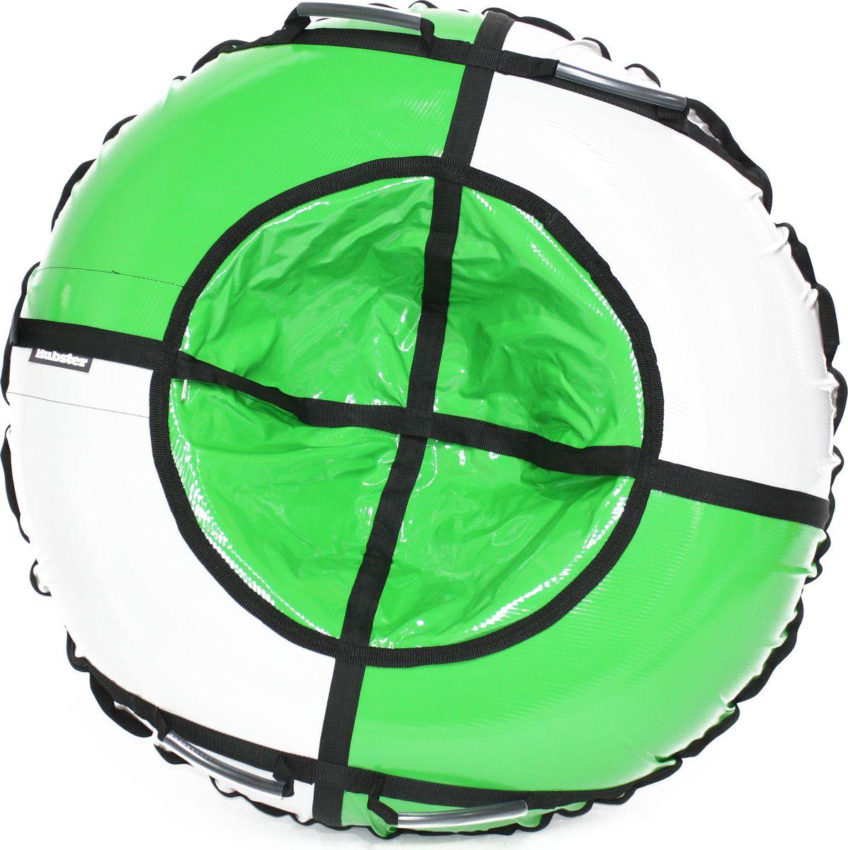 Тюбинг Hubster Sport Plus, цвет: серый, зеленый, диаметр 105 смво4327-1