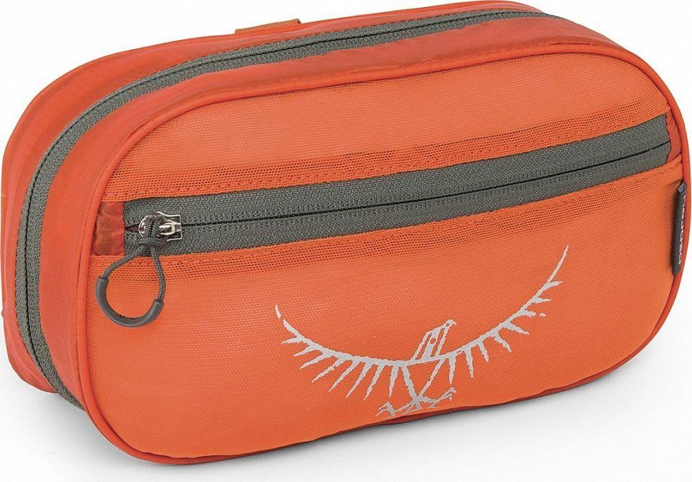 Косметичка Osprey Ultralight WashBag Zip, цвет: оранжевый00001043172Если вы отправились на вечернюю прогулку или в длительную экспедицию в Непал, суперлегкая косметичка сохранит ваши туалетные принадлежности в порядке. Изготовленная из прочного материала Ripstop nylon, Ultralight Washbag имеет удобный крючок для подвешивания, а также встроенное зеркальце для поддержания себя в порядке даже в самых удалённых точках мира. Карман из сетки на молнии позволяет компактно расположить туалетные принадлежности и выводит лишнюю влагу. Выпускается в различных ярких цветах, благодаря которым вы легко отыщите косметичку в своем рюкзаке. Светоотражающая графикаВстроенное съемное зеркальцеКарман из сетки на молнии для туалетных принадлежностейСъемный прозрачный карман для предметов личной гигиеныКрючок для подвешиванияВес: 0.12 кгМаксимальный размер: (см) 14 (длина) x 23 (ширина) x 7 (глубина)