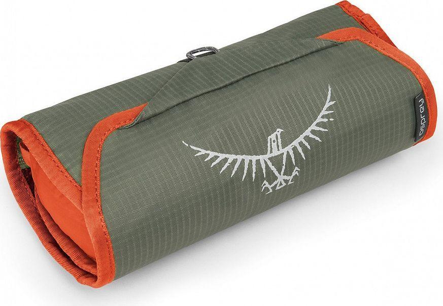 Косметичка Osprey Ultralight WashBag Roll, цвет: оранжевый00001043174Если вы отправились на вечернюю прогулку или в длительную экспедицию в Непал, суперлегкая косметичка Osprey Ultralight WashBag Roll сохранит ваши туалетные принадлежности в порядке. Изготовленная из прочного материала Ripstop nylon, Ultralight Washbag имеет удобный крючок для подвешивания, а также встроенное зеркальце для поддержания себя в порядке даже в самых удаленных точках мира. Карман из сетки на молнии позволяет компактно расположить туалетные принадлежности и выводит лишнюю влагу. Выпускается в различных ярких цветах, благодаря которым вы легко отыщите косметичку в своем рюкзаке. Светоотражающая графика Встроенное съемное зеркальце Карман из сетки на молнии для туалетных принадлежностей Крючок для подвешивания Вес: 130 г Максимальный размер: 38 x 24 x 7 см.)