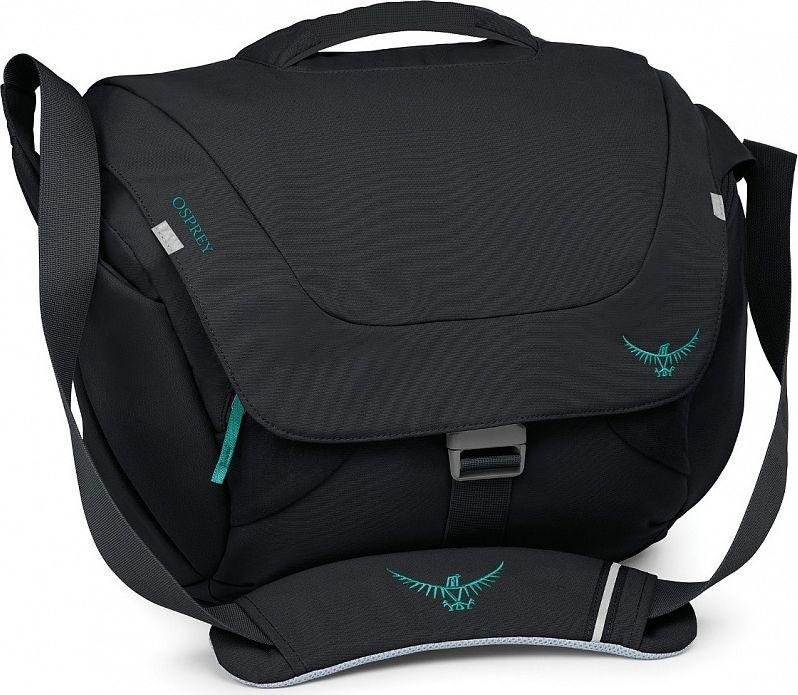 Сумка Osprey Flap Jill Courier, цвет: черный booq boa courier bcr10 gft сумка для ipad graphite