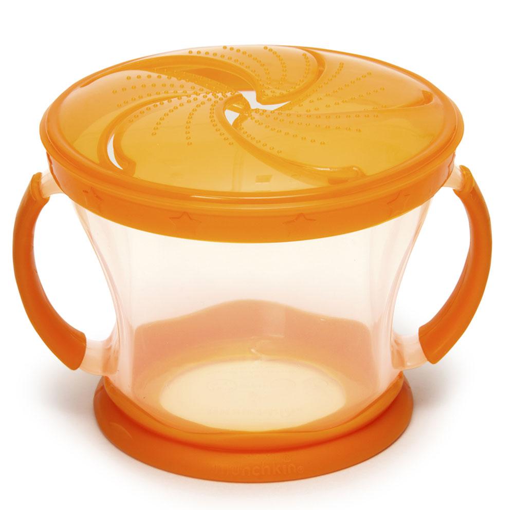 Munchkin Контейнер Поймай печенье цвет оранжевый
