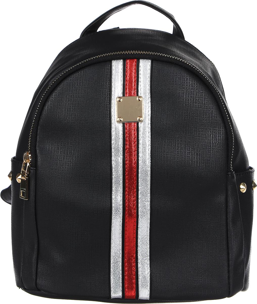 Рюкзак женский DDA, цвет: черный. DDA SB-1050 BK