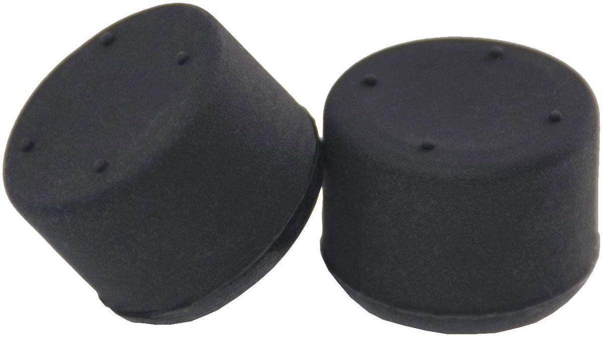 Artplays Thumb Grips ACPS4127, Black накладки защитные вогнутые для контроллеров PlayStation 4 (2 шт)ACPS4127Защищают стики контроллера Playstation 4 от стирания. На силиконовой основе. Повышенная износостойкость. Поверхность, предотвращающая скольжение пальцев. 2 шт. Легко крепятся к стикам и крепко сцепляются с ними.Геймпад в комплект не входит.