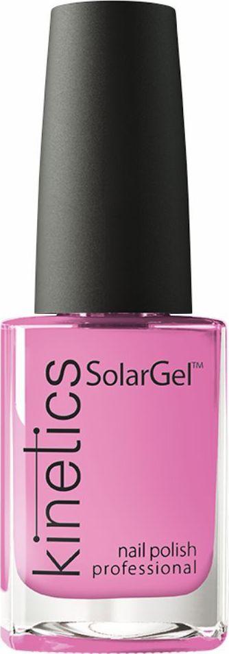 Kinetics Профессиональный лак SolarGel Polish, 15 мл, тон 382KNP382Новое поколение профессиональных гелевых лаков для ногтей, которые наносятся как обычный лак, а выглядят как гель. Ультрамодные и классические цвета поражают своей стойкостью и разнообразием оттенков. Стойкость до 10 дней, не требует специальной сушки в UV/LED лампе. Рекомендуется использовать с верхним покрытием SolarGel Top Coat