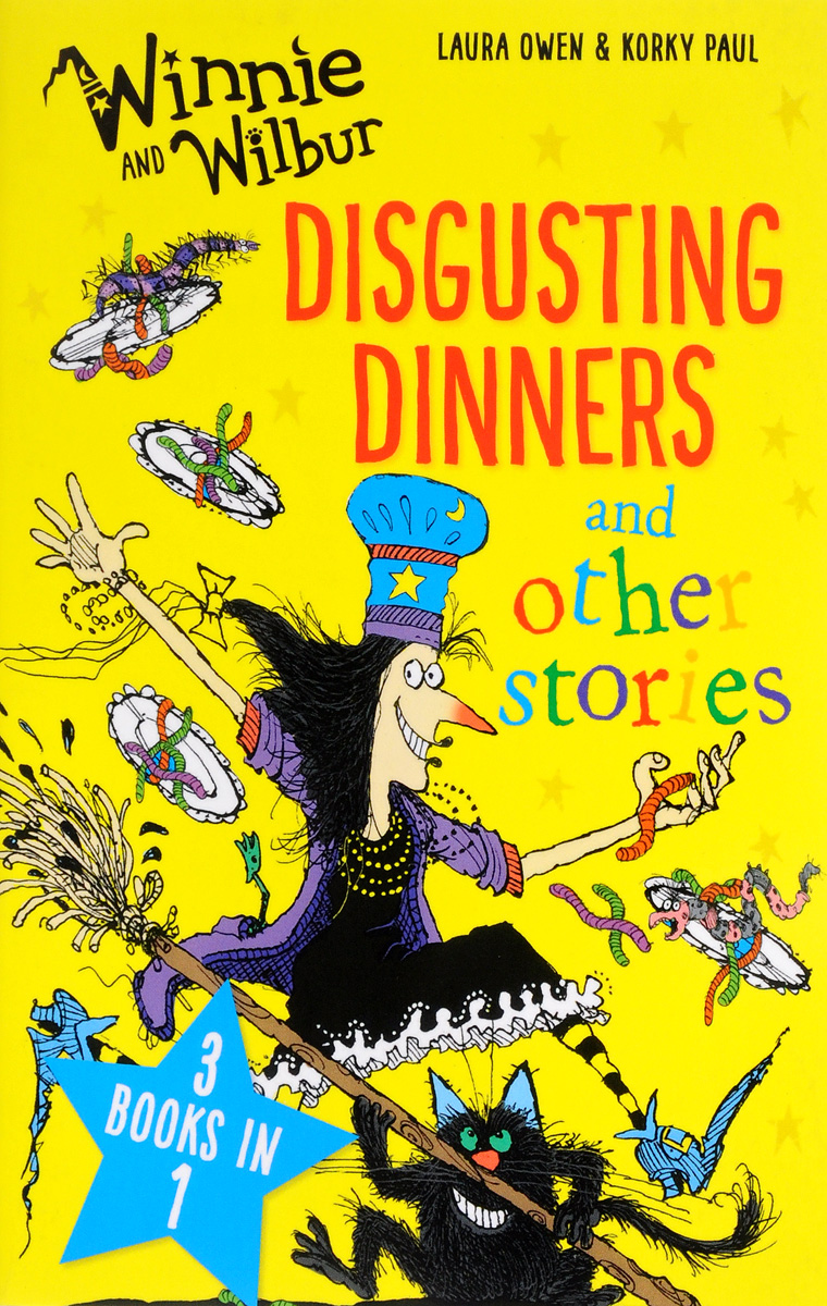 Winnie and Wilbur: Disgusting Dinners and Other Stories 30pcs in one postcard take a walk on the go dubai arab emirates christmas postcards greeting birthday message cards 10 2x14 2cm