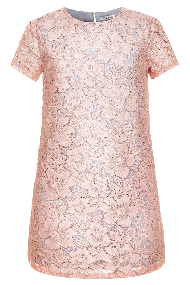 Платье для девочки Nota Bene, цвет: розовый. 17421120505. Размер 146 гарнитура epicgear thunderouz