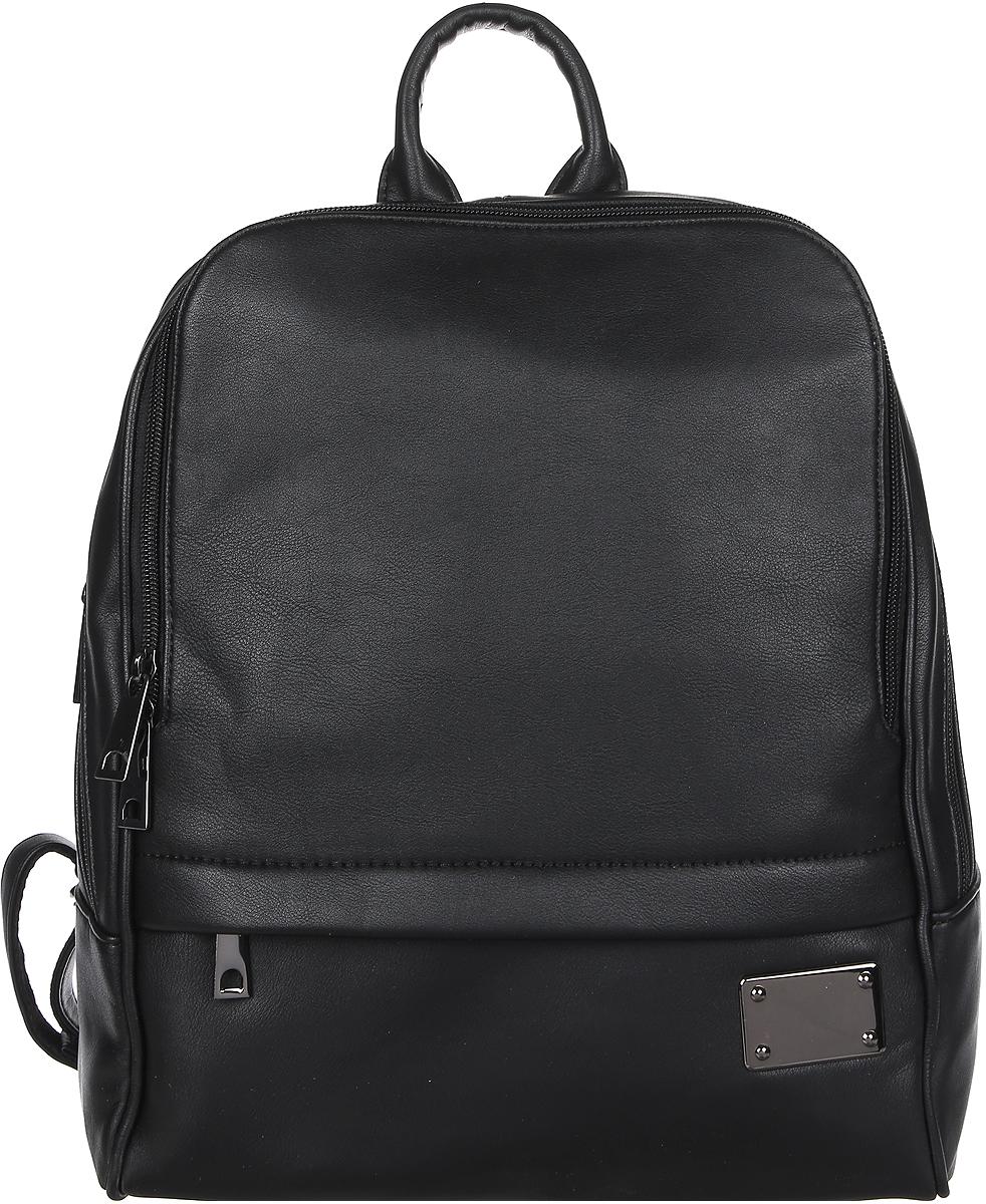 Рюкзак женский DDA, цвет: черный. DDA LB-2033BK