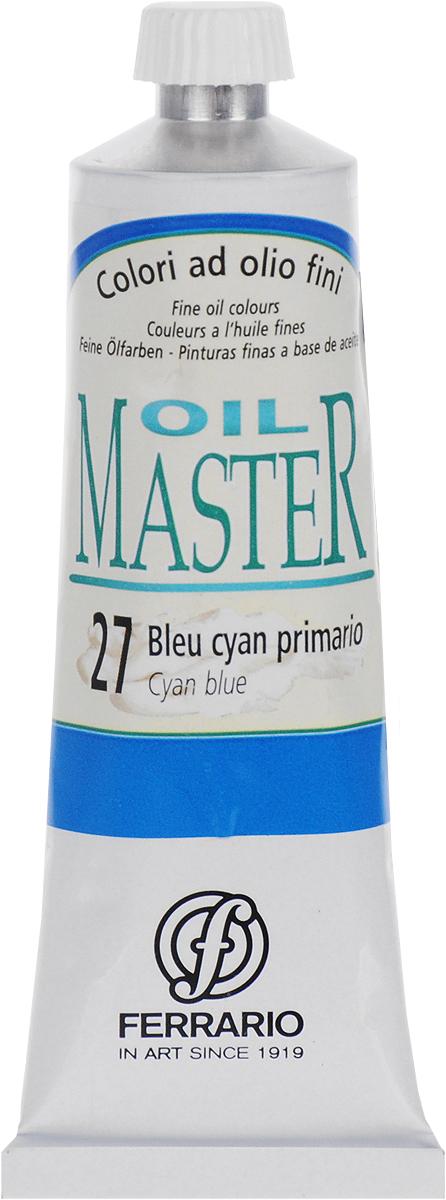 Ferrario Краска масляная Oil Master цвет №27 сине-голубойAM0030CO027Масло Oil Master итальянской компании Ferrario подходит как начинающим художникам, так и профессионалам. Краска изготавливается из светостойких пигментов мелкого помола. Благодаря тому, что некоторые натуральные пигменты были заменены на аналоги краски серии Oil Master стали более доступны по цене. Светостойкие краски отлично лессируются и хорошо смешиваются между собой. Краску можно разбавлять льняным маслом, терпентином или нефтяными разбавителями. В работе с красками используют кисти из щетины, синтетики и волоса колонка.