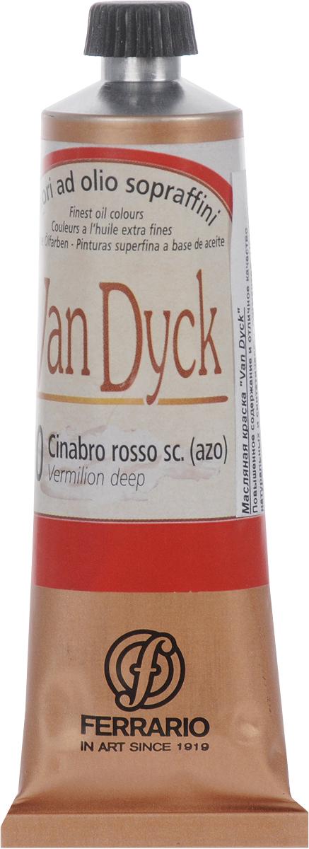 Ferrario Краска масляная Van Dyck цвет №30 вермиллион темныйAV0017CO30Масляные краски серии Van Dyck итальянской компании Ferrario изготавливаются из натуральных мелко тертых пигментов с добавлением качественного связующего материала. Благодаря этому масляные краски Van Dyck обладают превосходной светостойкостью, чистотой цветов и оттенков. Краски можно разбавлять льняным маслом, терпентином или нефтяными разбавителями. Все цвета хорошо смешиваются между собой.В серии масляных красок Van Dyck представлено 87 различных оттенков, а также 6 металлических оттенков.