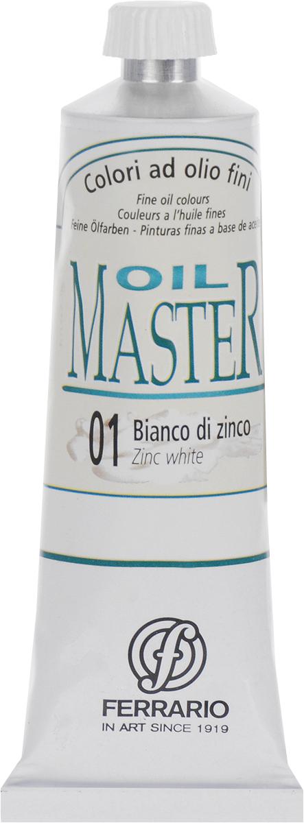 Ferrario Краска масляная Oil Master цвет №01 белила цинковые AM0030CO001AM0030CO001Масло OIL MASTER итальянской компании Ferrario подходит как начинающим художникам, так и профессионалам. Краска изготавливается из светостойких пигментов мелкого помола. Благодаря тому, что некоторые натуральные пигменты были заменены на аналоги краски серии OIL MASTER стали более доступны по цене. Светостойкие краски отлично лессируются и хорошо смешиваются между собой. Краску можно разбавлять льняным маслом, терпентином или нефтяными разбавителями. В работе с красками используют кисти из щетины, синтетики и волоса колонка. Серия состоит из 50 цветов.