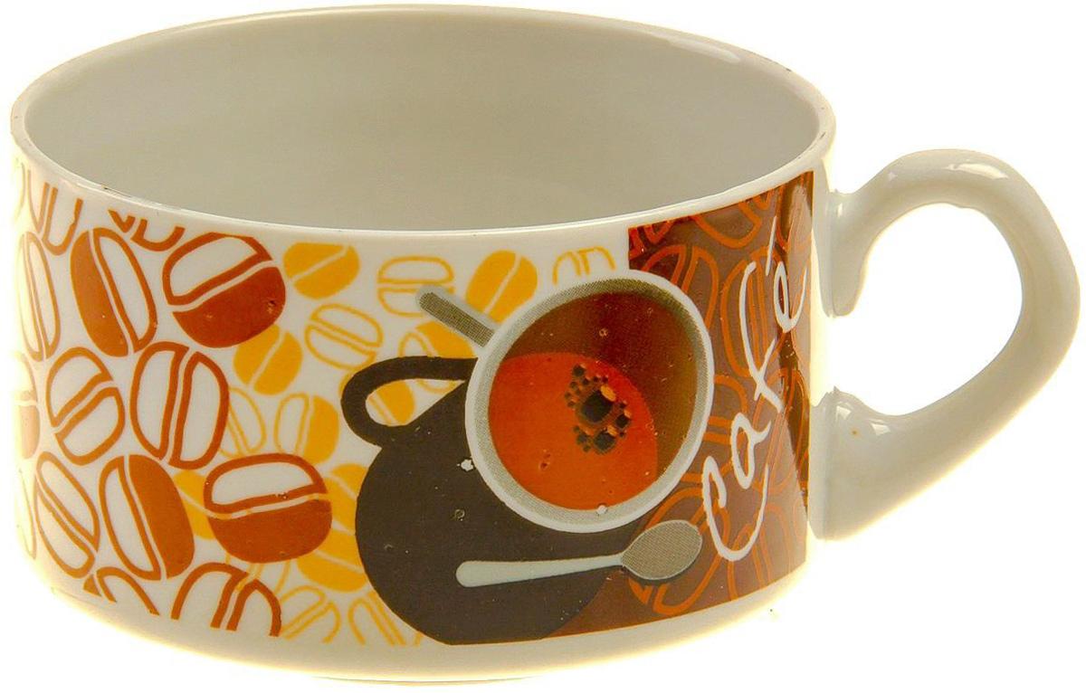 Чашка кофейная Фарфор Вербилок Европейка. Французский кофе, 230 мл. 173783173783От качества посуды зависит не только вкус еды, но и здоровье человека. Чашка - товар, соответствующий российским стандартам качества. Любой хозяйке будет приятно держать его в руках. С такой посудой и кухонной утварью приготовление еды и сервировка стола превратятся в настоящий праздник.