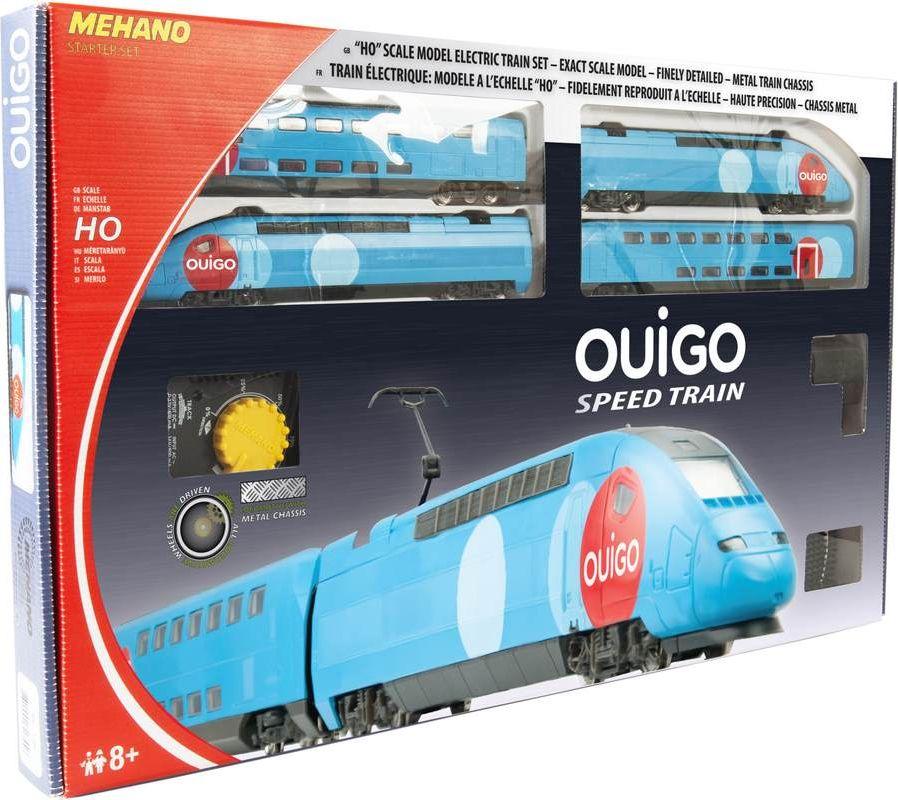 Mehano Железная дорога TGV OUIGO mehano железная дорога ice3 с ландшафтом