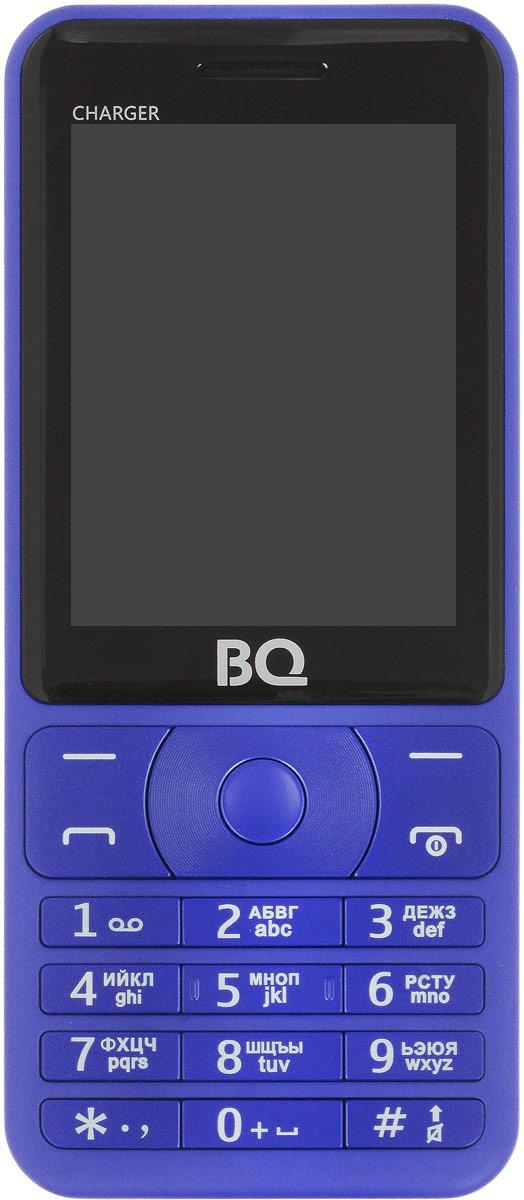 BQ 2425 Charger, Blue85954009BQ 2425 Charger - надежный и простой в использовании не просто телефон, а настоящий пауэр-банк!Аккумулятор объемом 3000 мАч, позволит полностью насладится функционалом телефона, не беспокоясь о зарядке, а заодно подзарядить и другие электронные устройства..Отличные функции, передовой дизайн, доступный в трех расцветках.Яркий экран с диагональю 2,4 удобен как для общения, так и для развлечения. Поддерживает 2 сим-карты и оснащен слотом под microSD до 64 ГБ памяти, что позволяет хранить внушительное количество мультимедиа и информации. Легкий и удобный в использовании. Телефон сертифицирован EAC и имеет русифицированную клавиатуру, меню и Руководство пользователя.