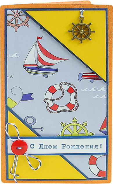 Конверт-открытка Студия Тетя роза Кораблик. ОМ-0042ОМ-0042