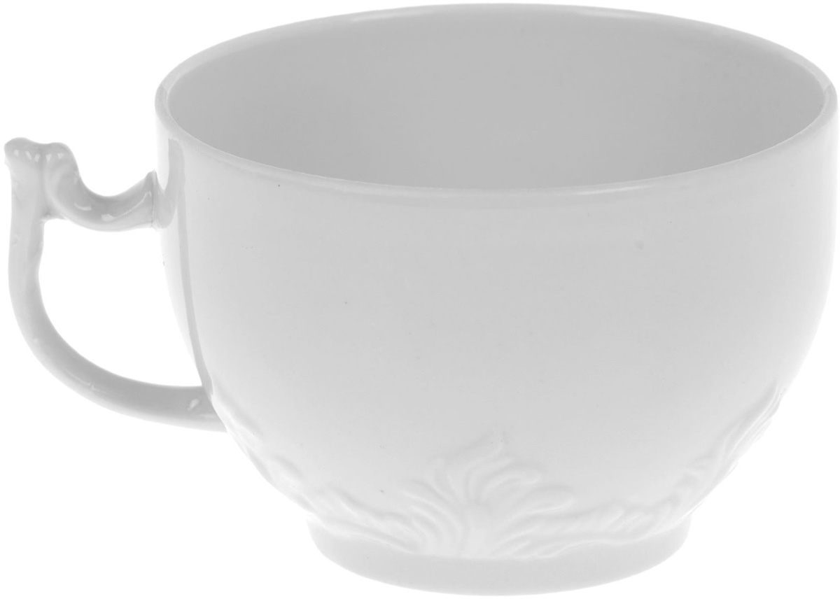 Чашка чайная Фарфор Вербилок, 200 мл. 1333148 кружка фарфор вербилок розовая лилия 200 мл