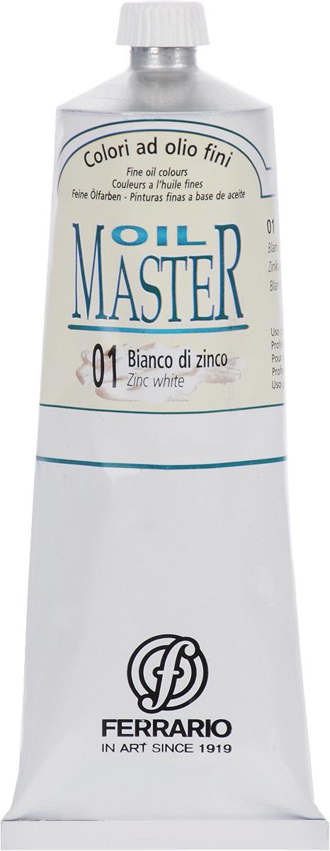 Ferrario Краска масляная Oil Master цвет №01 белила цинковые AM0031DO01AM0031DO01Масло Oil Master итальянской компании Ferrario подходит как начинающим художникам, так и профессионалам. Краска изготавливается из светостойких пигментов мелкого помола. Благодаря тому, что некоторые натуральные пигменты были заменены на аналоги краски серии Oil Master стали более доступны по цене. Светостойкие краски отлично лессируются и хорошо смешиваются между собой. Краску можно разбавлять льняным маслом, терпентином или нефтяными разбавителями. В работе с красками используют кисти из щетины, синтетики и волоса колонка.