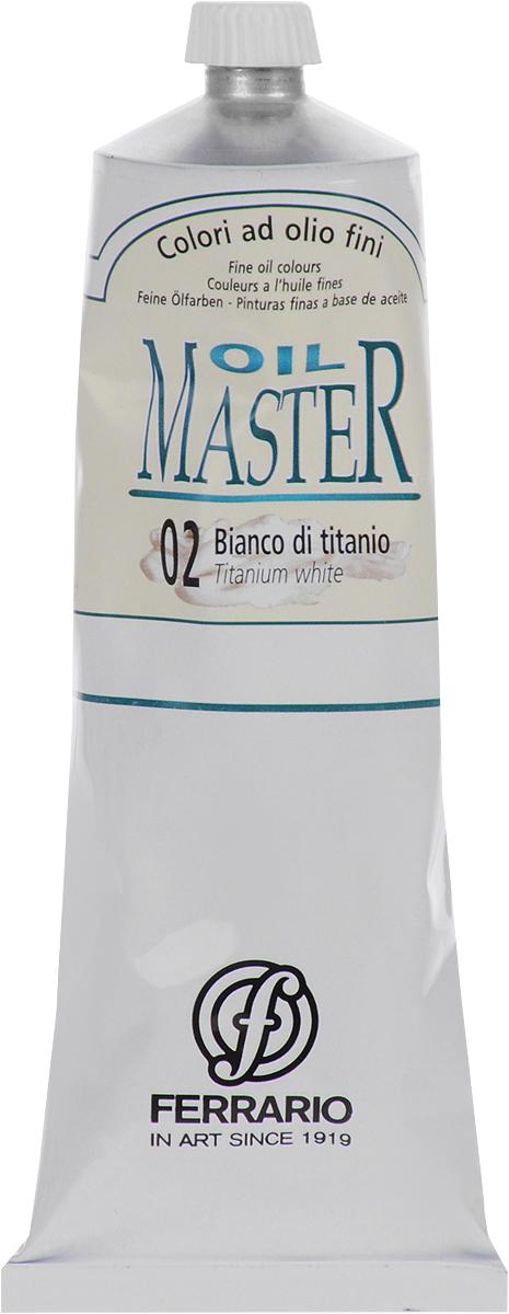 Ferrario Краска масляная Oil Master цвет №02 белила титановые AM0031DO02AM0031DO02Масло Oil Master итальянской компании Ferrario подходит как начинающим художникам, так и профессионалам. Краска изготавливается из светостойких пигментов мелкого помола. Благодаря тому, что некоторые натуральные пигменты были заменены на аналоги краски серии Oil Master стали более доступны по цене. Светостойкие краски отлично лессируются и хорошо смешиваются между собой. Краску можно разбавлять льняным маслом, терпентином или нефтяными разбавителями. В работе с красками используют кисти из щетины, синтетики и волоса колонка.