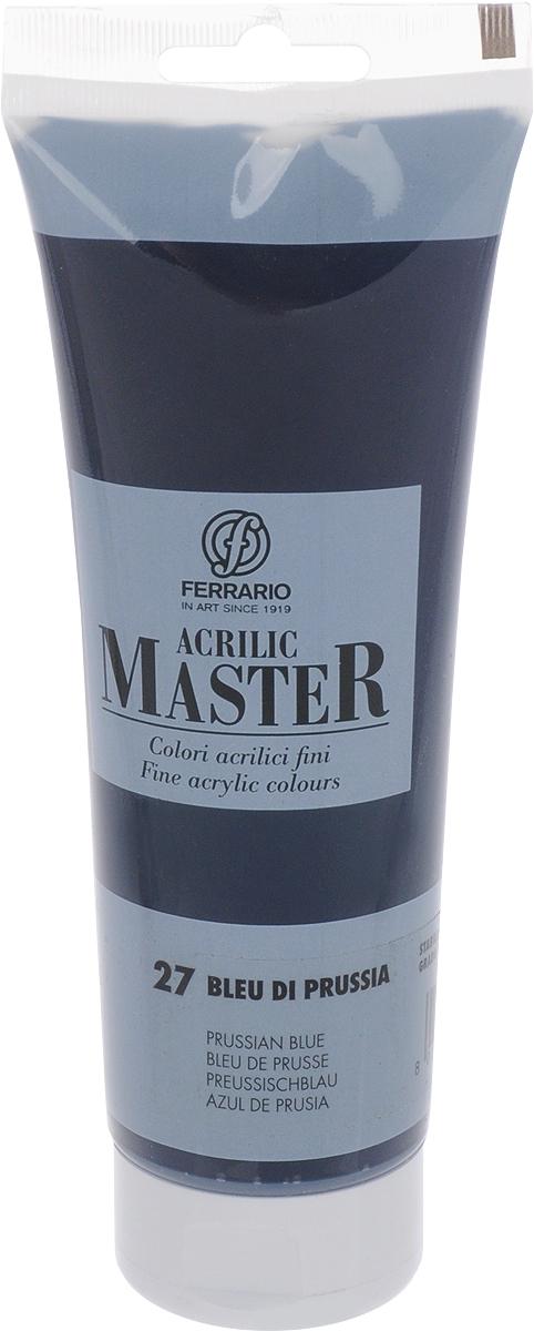 Фото Ferrario Краска акриловая Acrilic Master цвет №27 прусский синий