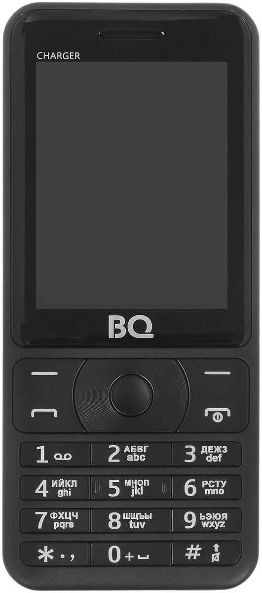 BQ 2425 Charger, Black85954008BQ 2425 Charger - надежный и простой в использовании не просто телефон, а настоящий пауэр-банк!Аккумулятор объемом 3000 мАч, позволит полностью насладится функционалом телефона, не беспокоясь о зарядке, а заодно подзарядить и другие электронные устройства..Отличные функции, передовой дизайн, доступный в трех расцветках.Яркий экран с диагональю 2,4 удобен как для общения, так и для развлечения. Поддерживает 2 сим-карты и оснащен слотом под microSD до 64 ГБ памяти, что позволяет хранить внушительное количество мультимедиа и информации. Легкий и удобный в использовании. Телефон сертифицирован EAC и имеет русифицированную клавиатуру, меню и Руководство пользователя.