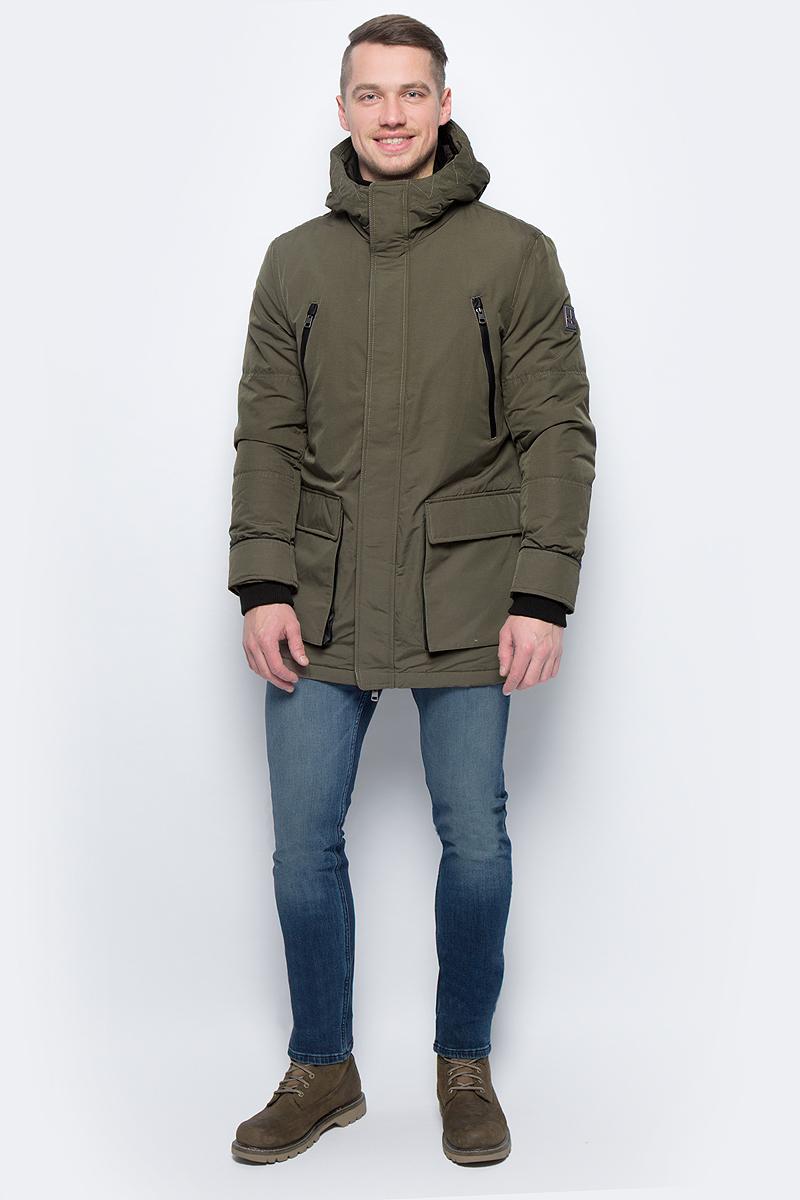 Куртка мужская Calvin Klein Jeans, цвет: зеленый. J30J305575_2040. Размер XXL (52/54)