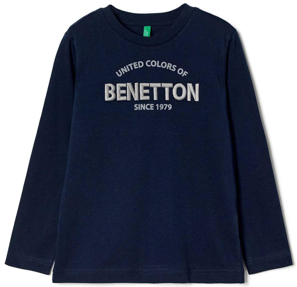 Майка для мальчиков United Colors of Benetton, цвет: синий. 3096C13GW_13C. Размер 1403096C13GW_13C