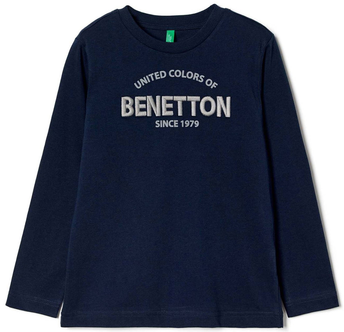 Майка для мальчиков United Colors of Benetton, цвет: синий. 3096C13GW_33M. Размер 1603096C13GW_33M