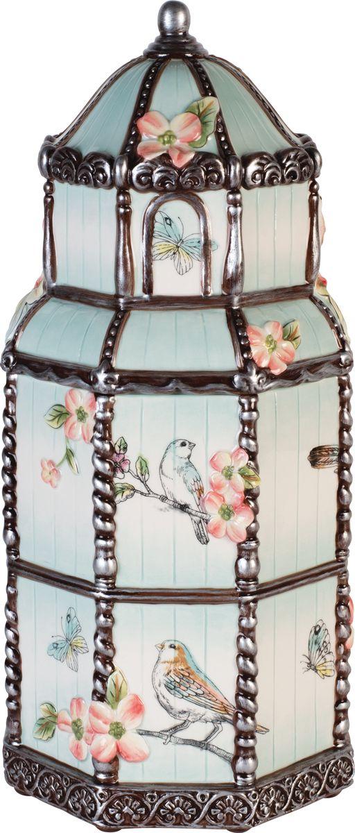 Банка для печенья Fitz and Floyd Английский сад, высота 39 см21-061Банка для печенья, 39смМатериал - керамика, расписанная вручнуюРекомендуется бережная ручная мойка с использованием безабразивных моющих средств.Подарочная упаковка