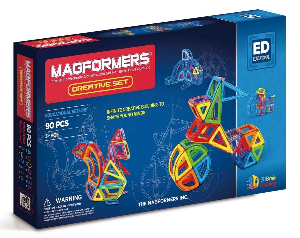 Magformers Магнитный конструктор Creative 90