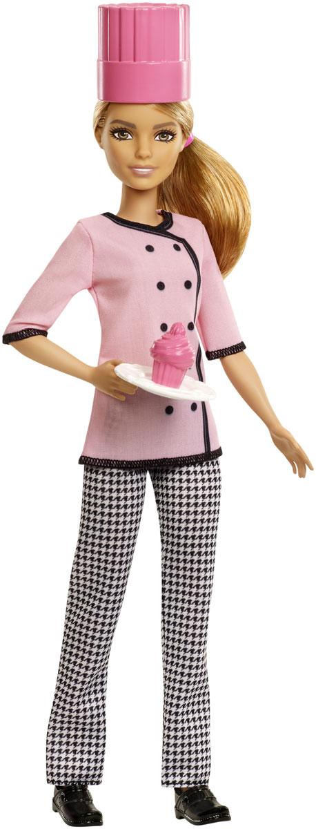 Barbie Кукла Кондитер FMT47 учебник кондитер
