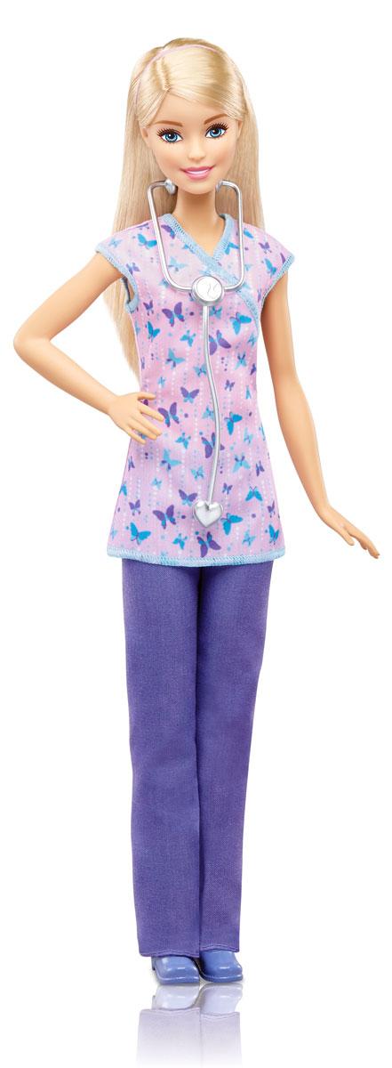 Barbie Кукла Медсестра DVF57 набор для творчества с картонными куклами fashion angels barbie 22330