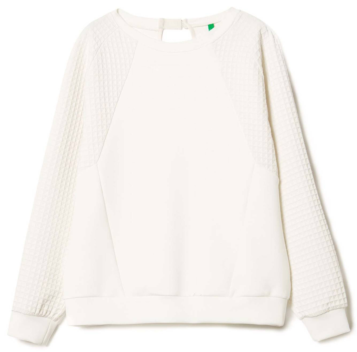 Купить Джемпер женский United Colors of Benetton, цвет: белый. 3AQ9E1F34_036. Размер XS (40/42)