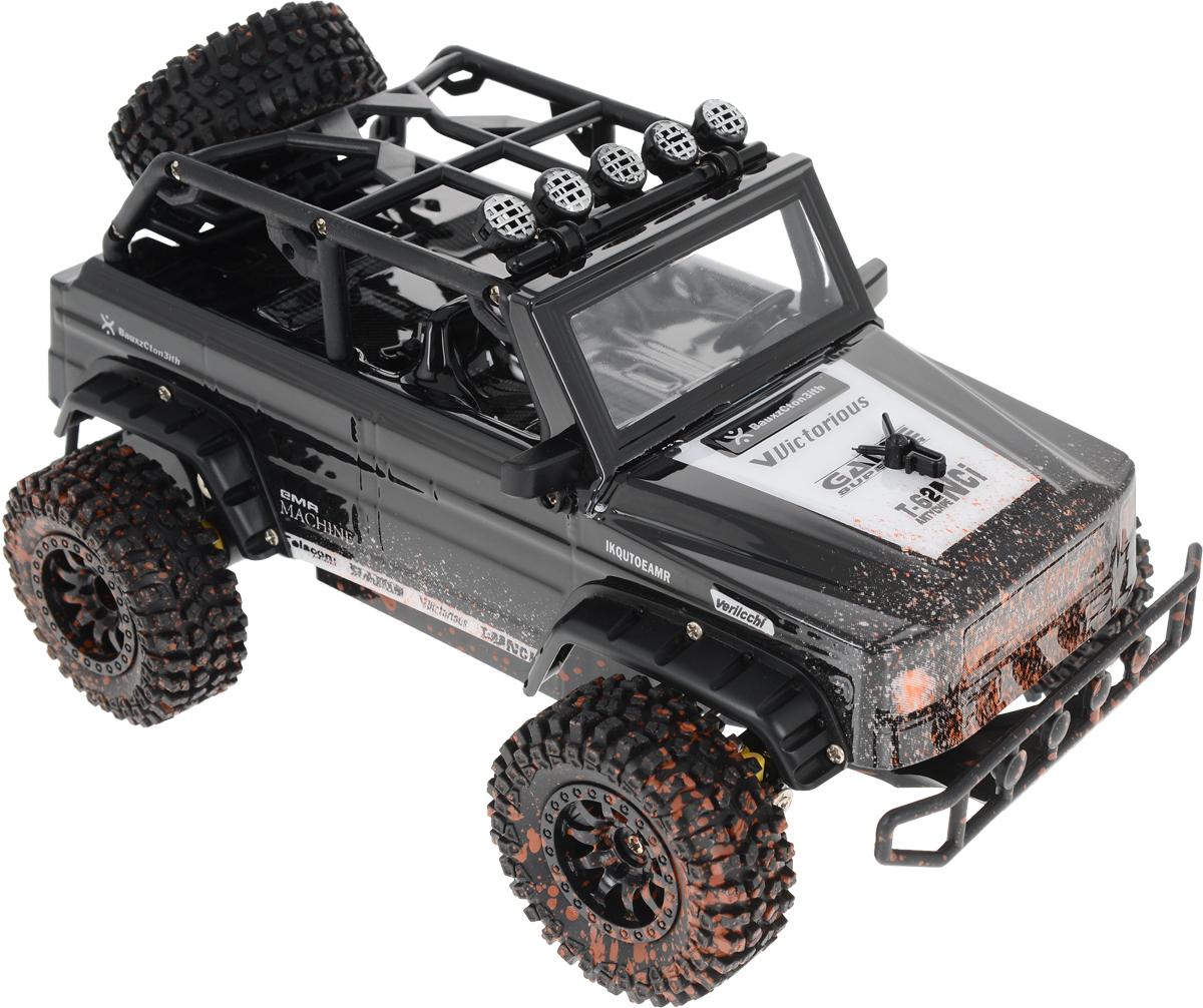 Пламенный мотор Джип на радиоуправлении Сафари цвет черный пламенный мотор пламенный мотор джип сафари радиоуправляемый черный