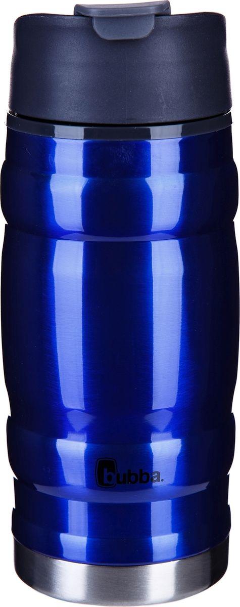 Термокружка Bubba Hero, цвет: синий, 350 млbubba0748Герметичная термокружка Bubba Hero предназначена для персонального применения и идеально подходит для использования дома, на работе или в дороге.Термокружка сохраняет горячие напитки до 6 часов, холодные до 10 часов. Обеспечивает комфортное передвижение, в средних по длительности поездках и пеших прогулках.