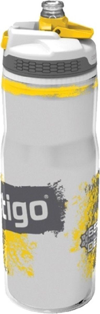 Бутылка для воды Contigo Devon, цвет: желтый, 650 мл бутылка для воды 650 мл синего цвета