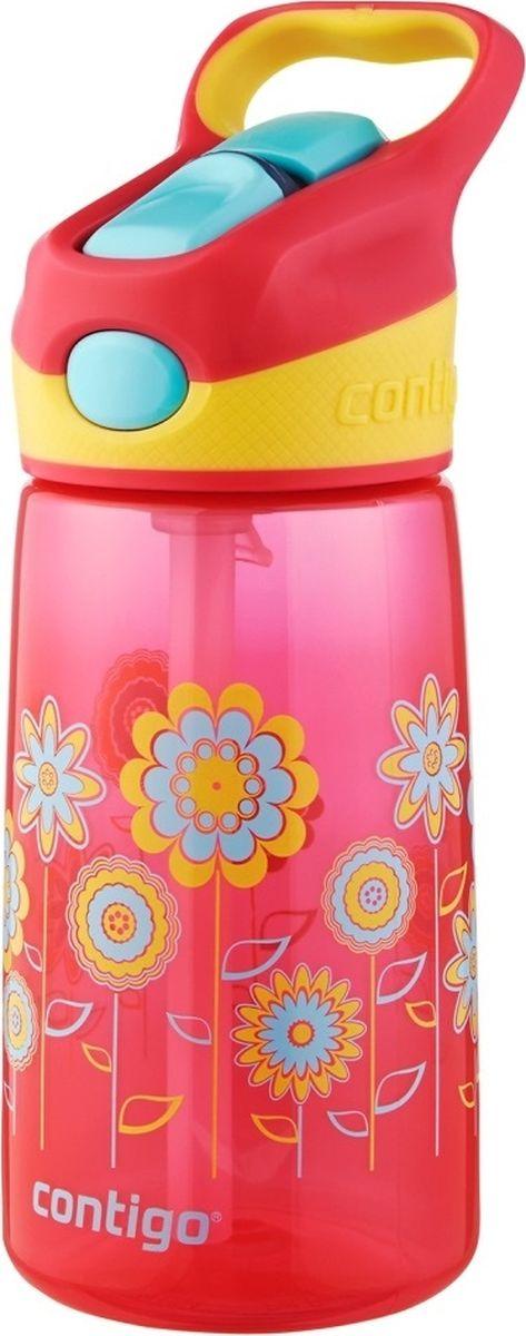 Детская бутылочка Contigo Striker, цвет: розовый, 420 млcontigo0349